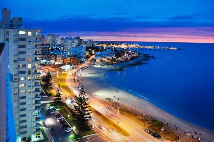 Punta del Este é um dos destinos encantadores no Uruguai