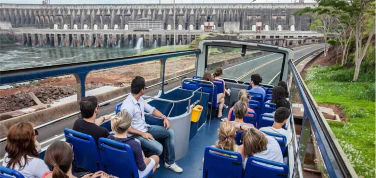 Usina de Itaipu é um dos pontos turísticos próximos ao Cataratas do Iguaçu