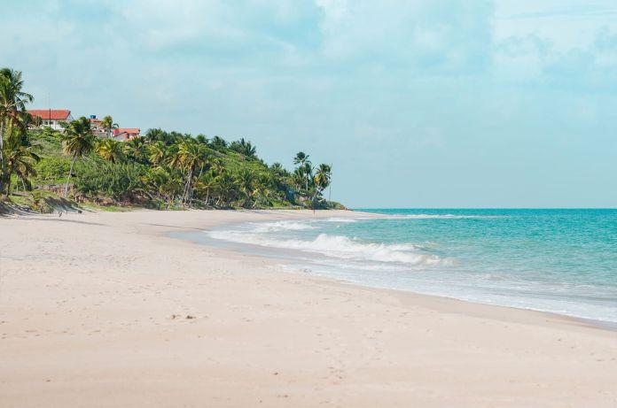 Praia de Tabatinga Costa do Conde Paraíba Brasil [Foto: shutterstock]