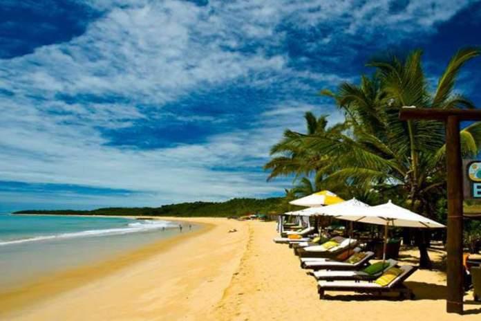 Praia do Rio Verde é uma das melhores praias de Trancoso