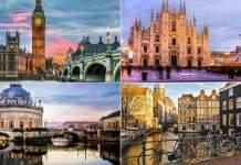 melhores destinos turísticos da Europa capa