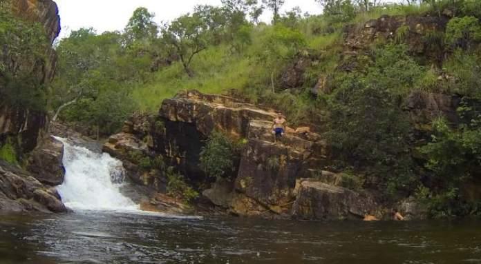 Cachoeira Paraíso é um dos lugares impressionantes no Tocantins