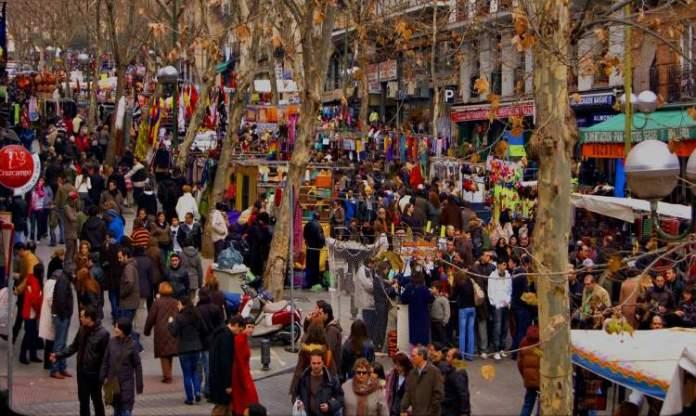 El Rastro é uma das Atrações Gratuitas em Madri
