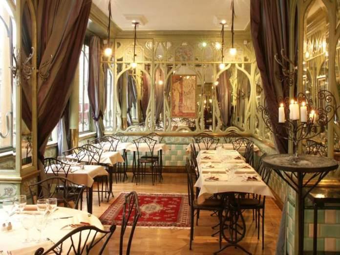 Ir no Bouillon Racine quando Viajar à Paris