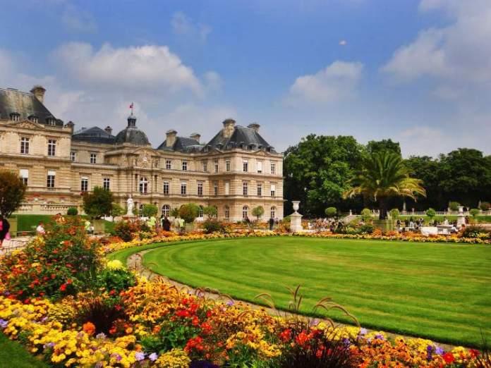 Jardins de Luxemburgo é uma das Atrações Gratuitas em Paris