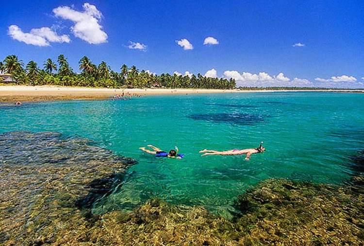 Melhores Praias de Morro de São Paulo: Quarta praia