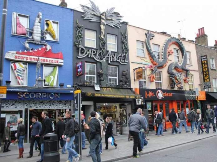 Mercado de Camden é uma das Atrações Gratuitas em Londres