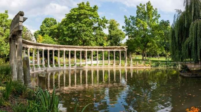 Parque Monceau é uma das Atrações Gratuitas em Paris