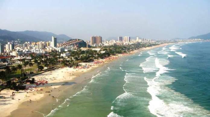 Praia da Enseada é uma das melhores praias do Guarujá