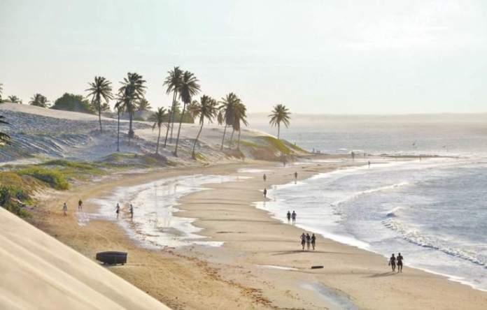 Praia das Almas é uma das Melhores Praias de Paracuru