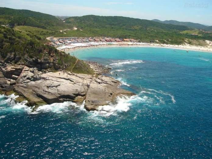 Praia das Conchas é uma das melhores praias de Cabo Frio