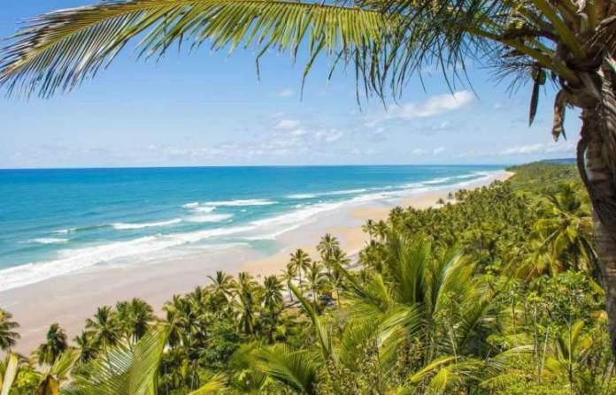 Praia de Itacarezinho é uma das melhores praias de Itacaré