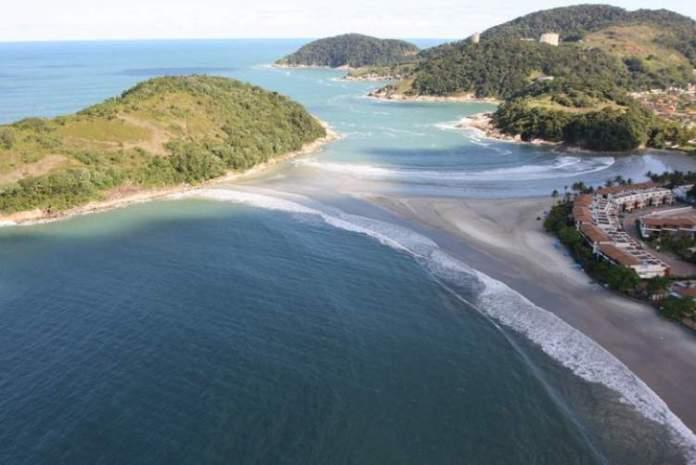 Praia de Pernambuco é uma das melhores praias do Guarujá