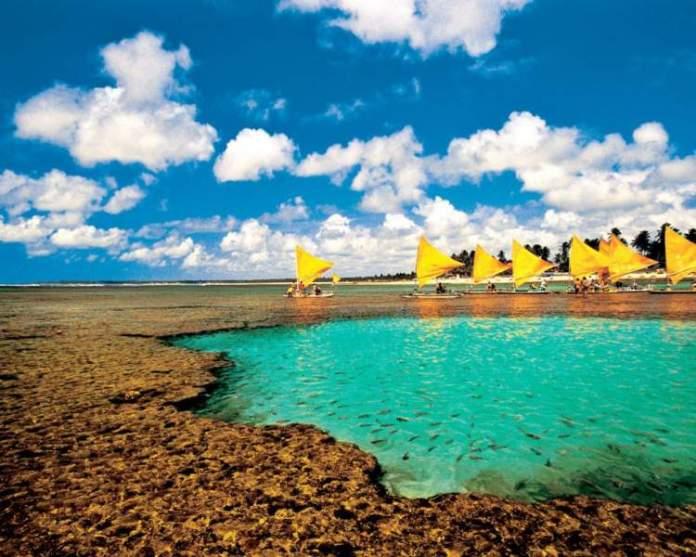 Praia de Porto de Galinhas é uma das praias mais lindonas do Nordeste brasileiro