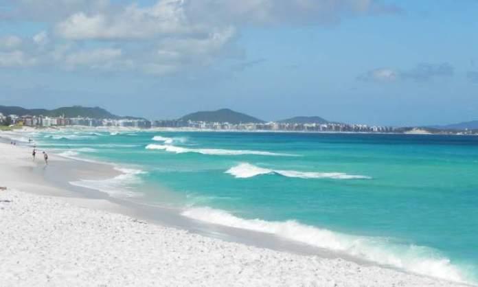 Praia do Foguete é uma das melhores praias de Cabo Frio