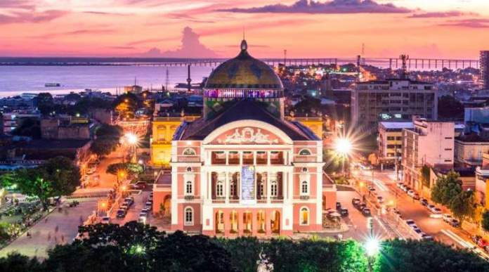 Teatro Amazonas é um dos melhores pontos turísticos do Amazonas