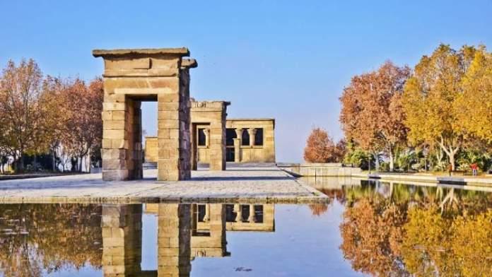 Templo de Debod é uma das Atrações Gratuitas em Madri