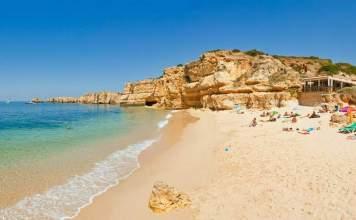 praias mais lindas de Albufeira em Portugal capa