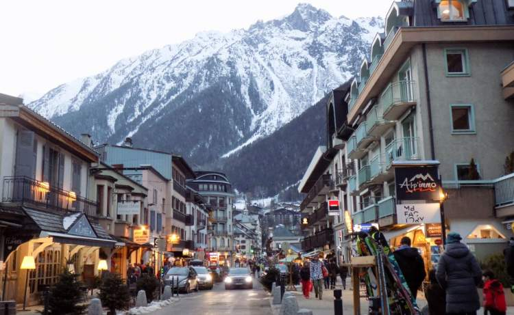 Chamonix na França é um dos melhores destinos para esquiar