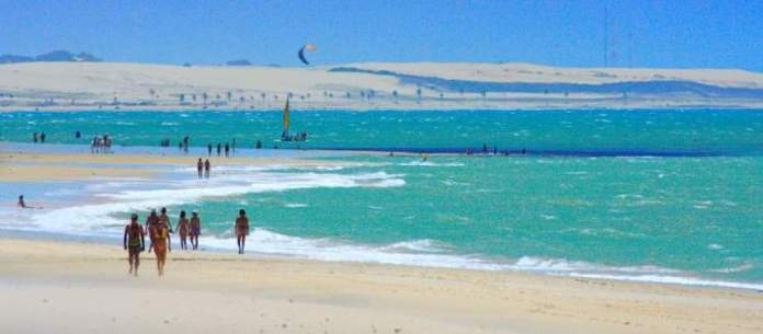 Cumbuco é uma das praias mais lindonas de Fortaleza