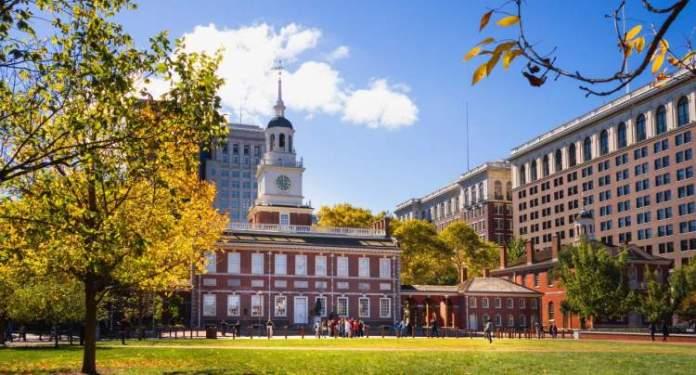 Filadélfia é um dos destinos nos Estados Unidos mais baratos para viajar