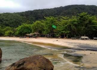 Praia do Bonete em Ubatuba