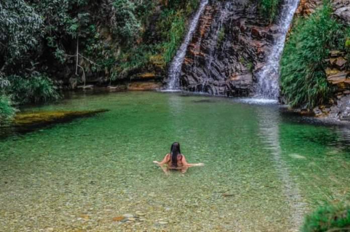 Cachoeira Lagoa Azul em Capitólio-MG