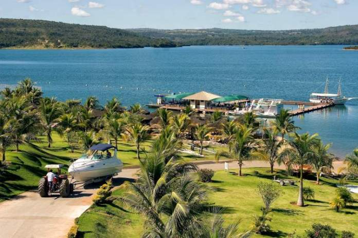 Caldas Novas é um dos lugares lindos em Goiás