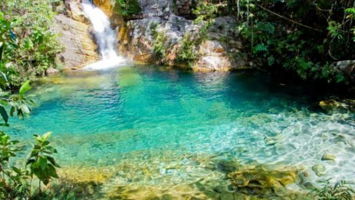 Cavalcante em Goiás é um dos lugares com águas cristalinas no Brasil