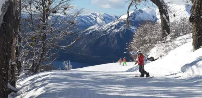 Cerro Catedral em Bariloche é um dos destinos de esqui na América do Sul