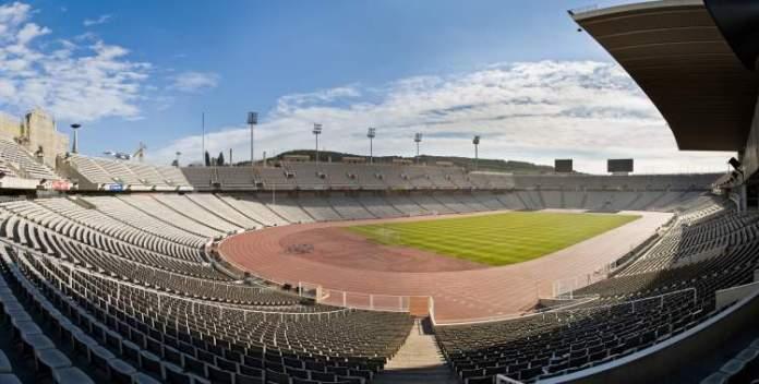 Estádio Olímpic Lluís Companys é uma das atrações gratuitas em Barcelona