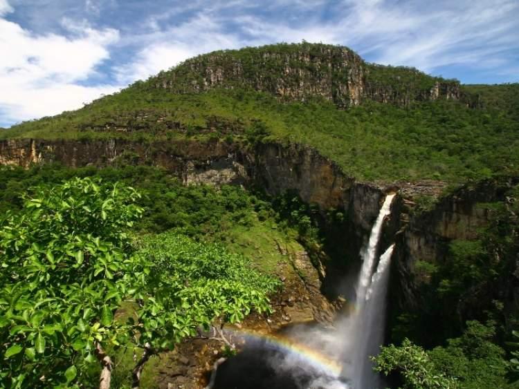 Parque Nacional da Chapada dos Veadeiros é um dos lugares lindos em Goiás