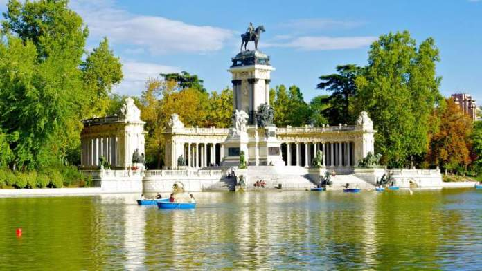 Parque de El Retiro em Madri