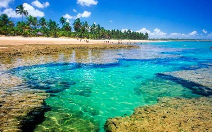 Península do Maraú na Bahia é um dos lugares com águas cristalinas no Brasil