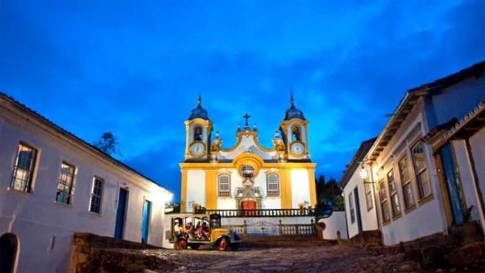 Tiradentes é um dos passeios românticos para fazer em Minas Gerais