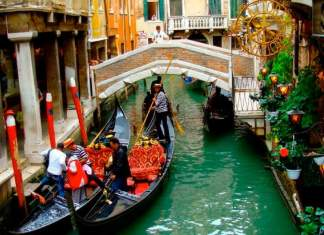 atrações gratuitas em Veneza