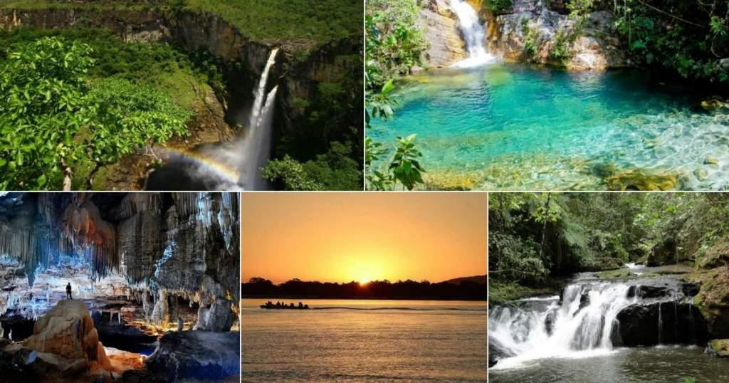 lugares lindos em Goiás