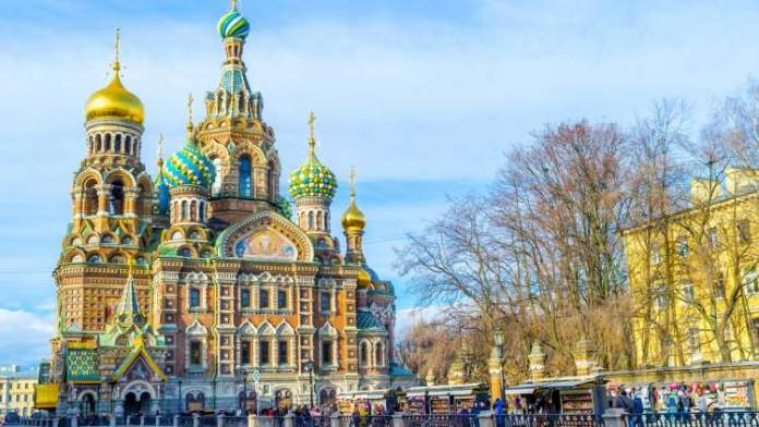 viajar a São Petersburgo catedral sangue derramado