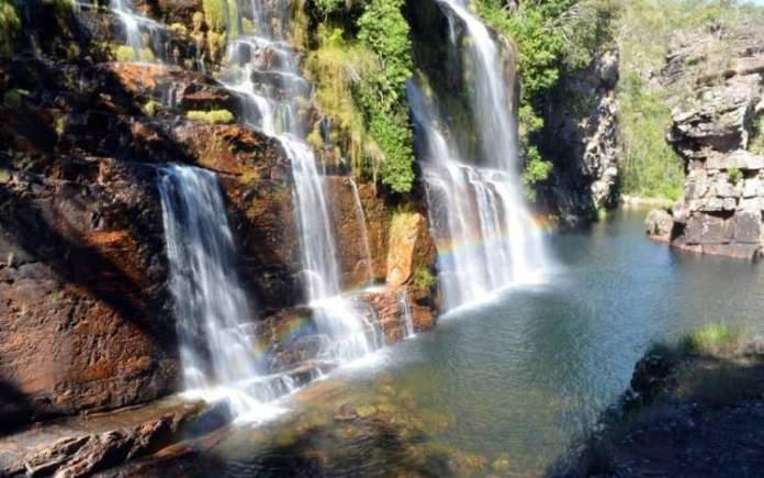 Cachoeira de Almécegas I na Chapada dos Veadeiros