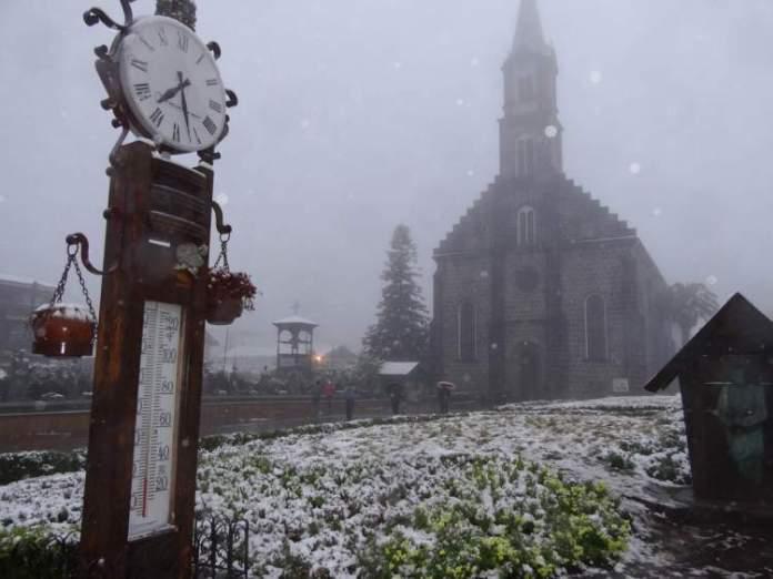 Canela é uma das cidades que ficam mais charmosas no inverno