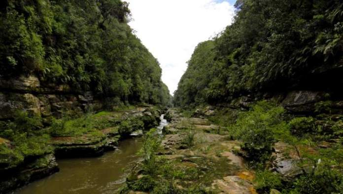 Cânion do Rio Jaguariaíva é um dos Maiores Cânions no Brasil