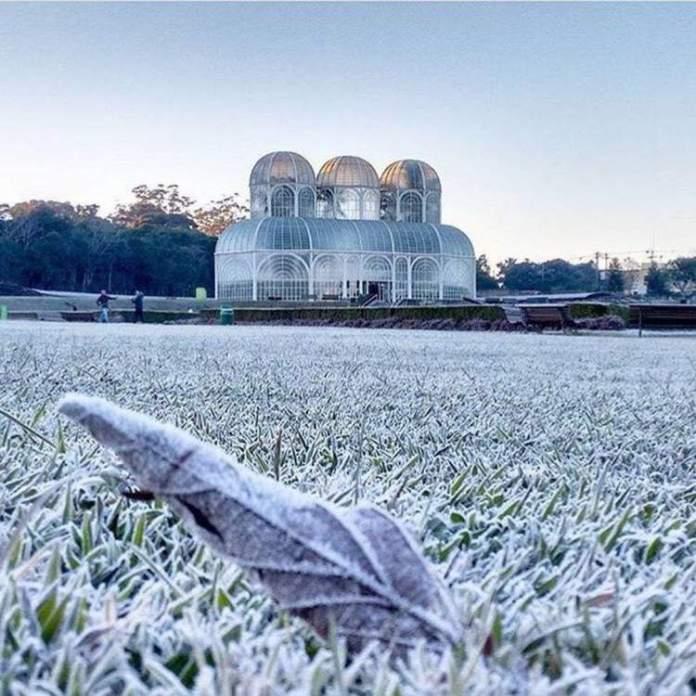 Curitiba é um dos Lugares incríveis no Brasil para quem gosta de curtir o frio