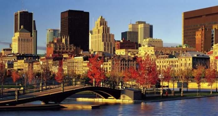 Montreal é um dos lugares impressionantes no Canadá