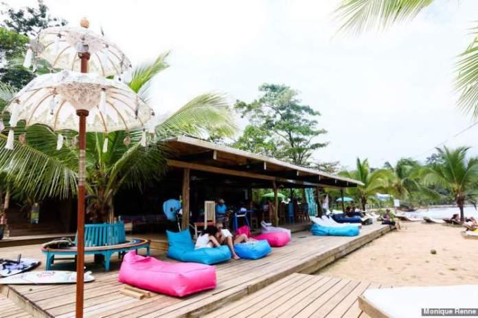 Praia Paki Point em Bocas del Toro Panamá