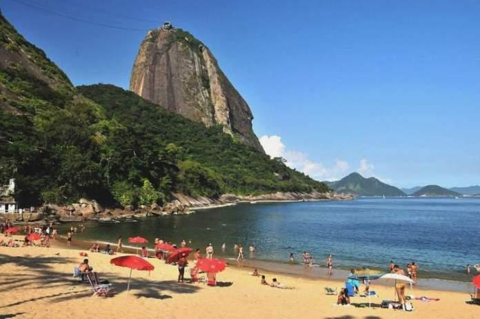 Praia Vermelha é uma das Praias Mais Lindonas do Rio de Janeiro