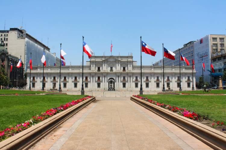 Centro Histórico em Santiago do Chile