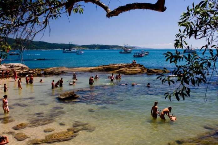 Ingleses é uma das melhores praias de Bombinhas
