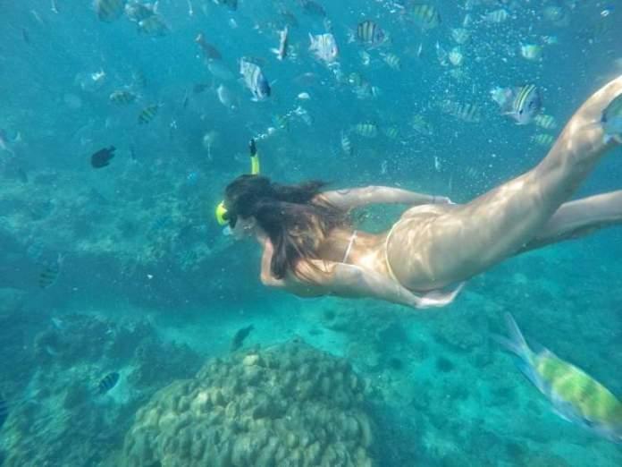 Mergulho em Railay Beach na Tailândia