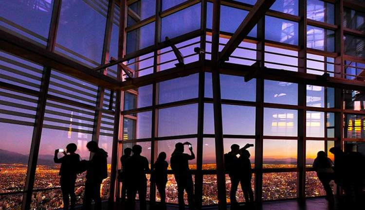 Mirante Sky Costanera em Santiago do Chile
