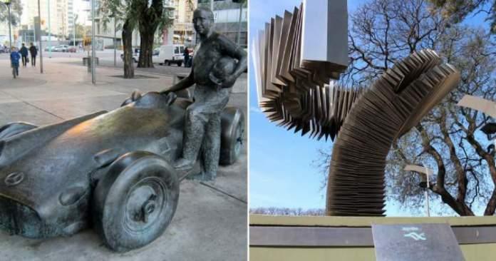 Monumentos é uma das atrações turísticas em Buenos Aires